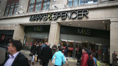 Marks and Spencer's flagship store on Oxford Street, London