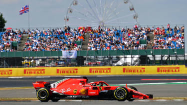 Ferrari's Sebastian Vettel won the 2018 Formula 1 British Grand Prix at Silverstone