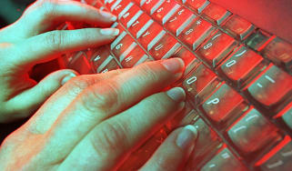 typing dark web