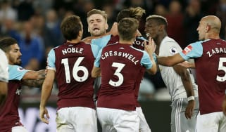 West Ham 0 Manchester United 0 Premier League Noble Pogba