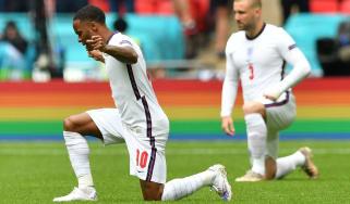 Raheem Sterling taking the knee