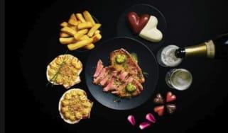 Marks & Spencer Valentine's meal