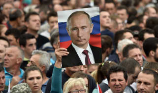 Vladimir Putin is set to be re-elected in March