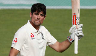 Alastair Cook scored 147 runs in his final Test innings for England