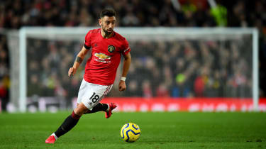 Bruno Fernandes signed for Manchester United from Sporting Lisbon in January 2020