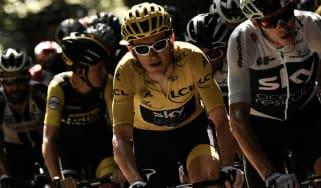 Tour de France Team Sky Geraint Thomas Chris Froome