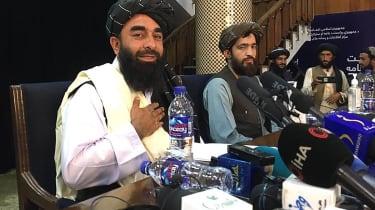 Taliban press conference