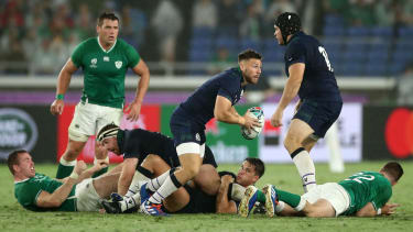 Scotland scrum-half Ali Price will miss the remainder of the Rugby World Cup