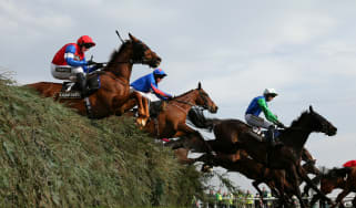 Grand National riders at Aintree