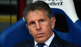 Leicester City appointed Claude Puel as manager in October 2017