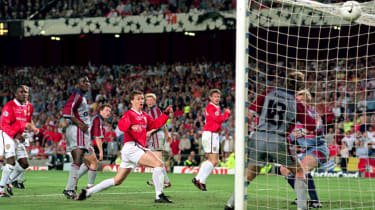 Ole Gunnar Solskjaer scored the winner for Man Utd against Bayern in the 1999 Champions League final at the Camp Nou
