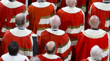 Peers in House of Lords