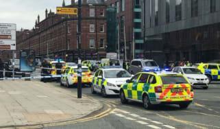 Hilton Manchester stabbing