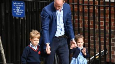 William, Charlotte, George