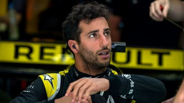 Australian driver Daniel Ricciardo is going into the final year of his contract with Renault