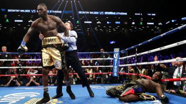 Deontay Wilder Anthony Joshua boxing