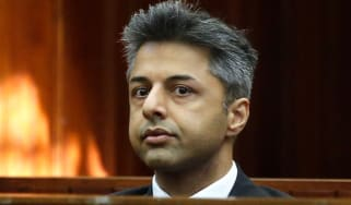Shrien Dewani at murder trial