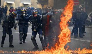 Paris May Day rally