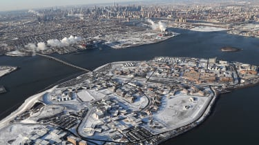 Rikers Island prison facility pictured in 2018