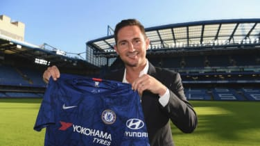 Frank Lampard has been named as Chelsea's new head coach
