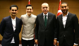 Recep Erdogan Ozil Gundogan Tosun