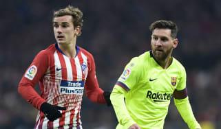 Antoine Griezmann could be lining up alongside Lionel Messi at Barcelona next season