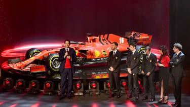 Ferrari SF1000 F1 2020 car