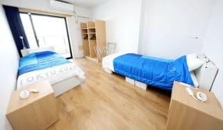 Tokyo 2020 bedrooms