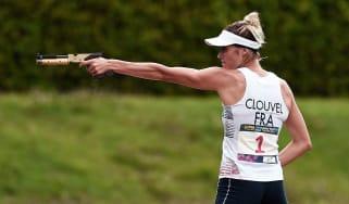 Pentathlete Elodie Clouvel