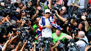 Lewis Hamilton 2017 F1 world champion