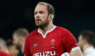 Wales rugby union captain Alun Wyn Jones