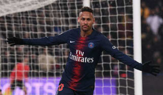 PSG forward Neymar will miss the Champions League ties against Man Utd