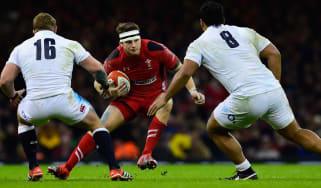 Dan Biggar, Wales v England