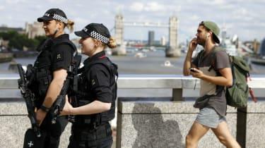 Police on London Bridge