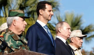 Vladimir Putin has be crucial in keeping Syrian President Bashar al-Assad in power