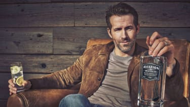 Ryan Reynolds co-owned Aviation American Gin