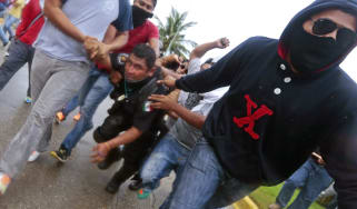 Clashes in Mexico
