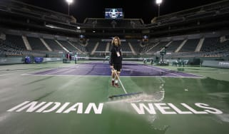 The BNP Paribas Open at Indian Wells has been cancelled due to fears over the coronavirus