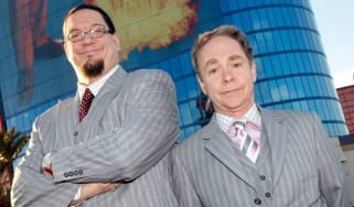 Magic duo Penn and Teller