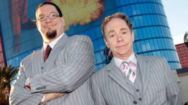 Magic duo Penn and Teller