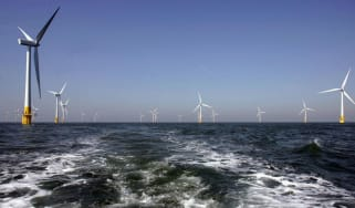 Britain's largest offshore windfarm off the Great Yarmouth coastline