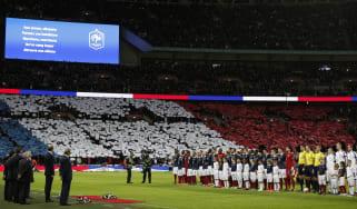 Wembley Paris attacks