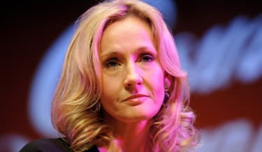 LONDON, ENGLAND - SEPTEMBER 27:Author J.K. Rowling attends photocall ahead of her reading from 'The Casual Vacancy' at the Queen Elizabeth Hall on September 27, 2012 in London, England.(Photo