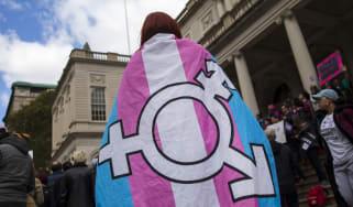 A transgender activist