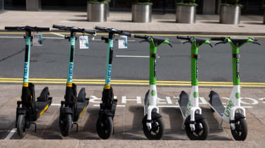 An e-scooter pilot program launched in London on 7 June