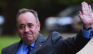 The First Minister of Scotland Alex Salmond