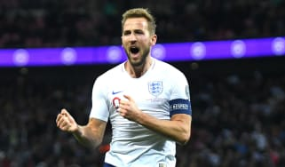 England captain Harry Kane scored a hat-trick in the 7-0 win over Montenegro