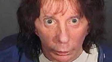 LOS ANGELES, CA - APRIL 13:In this police booking photo released by the Los Angeles County Sheriff's Dept., rock music producer Phil Spector poses for a mugshot April 13, 2009 in Los Angeles,