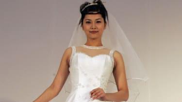 Bride in Japan