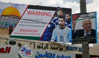 Israel vs Argentina Lionel Messi